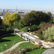 Inside Paris Tours - Parc de Belleville - Gardens and belveders on the roofs of Paris